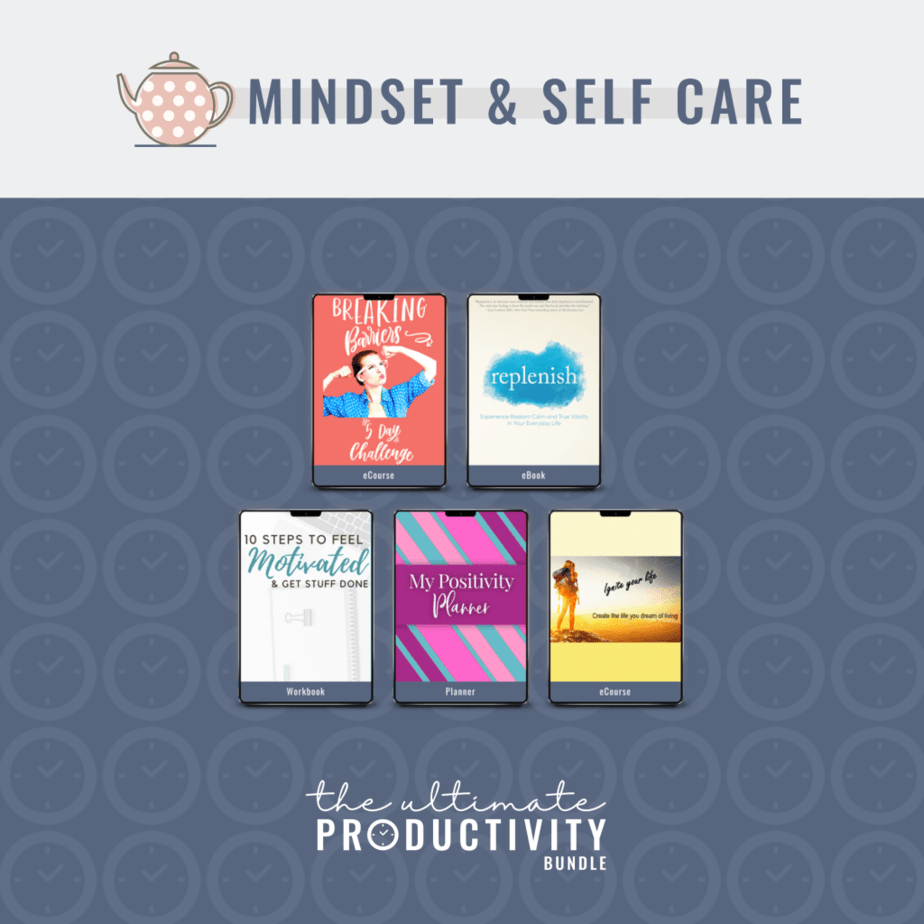 Be mindful and take care of yourself with this productivity bundle