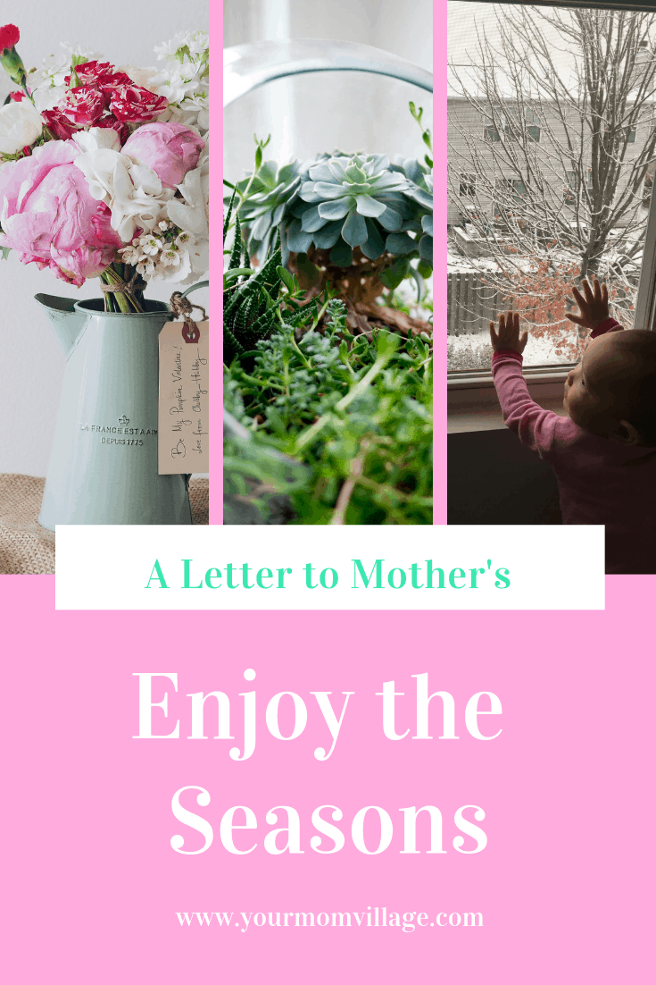 I wish I knew about the Seasons as a Mother