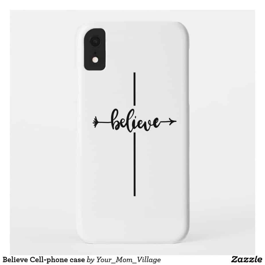 Believe Cell-phone case