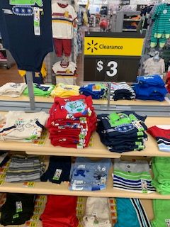 Walmart Clearance Table