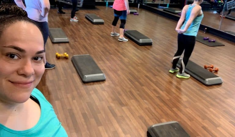 Workout at work with these quick easy ways for busy moms