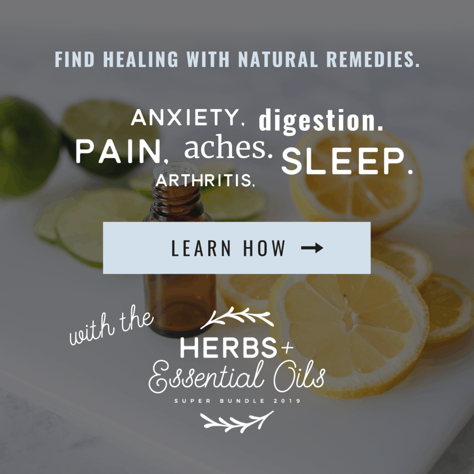 Find healing with natural remedies