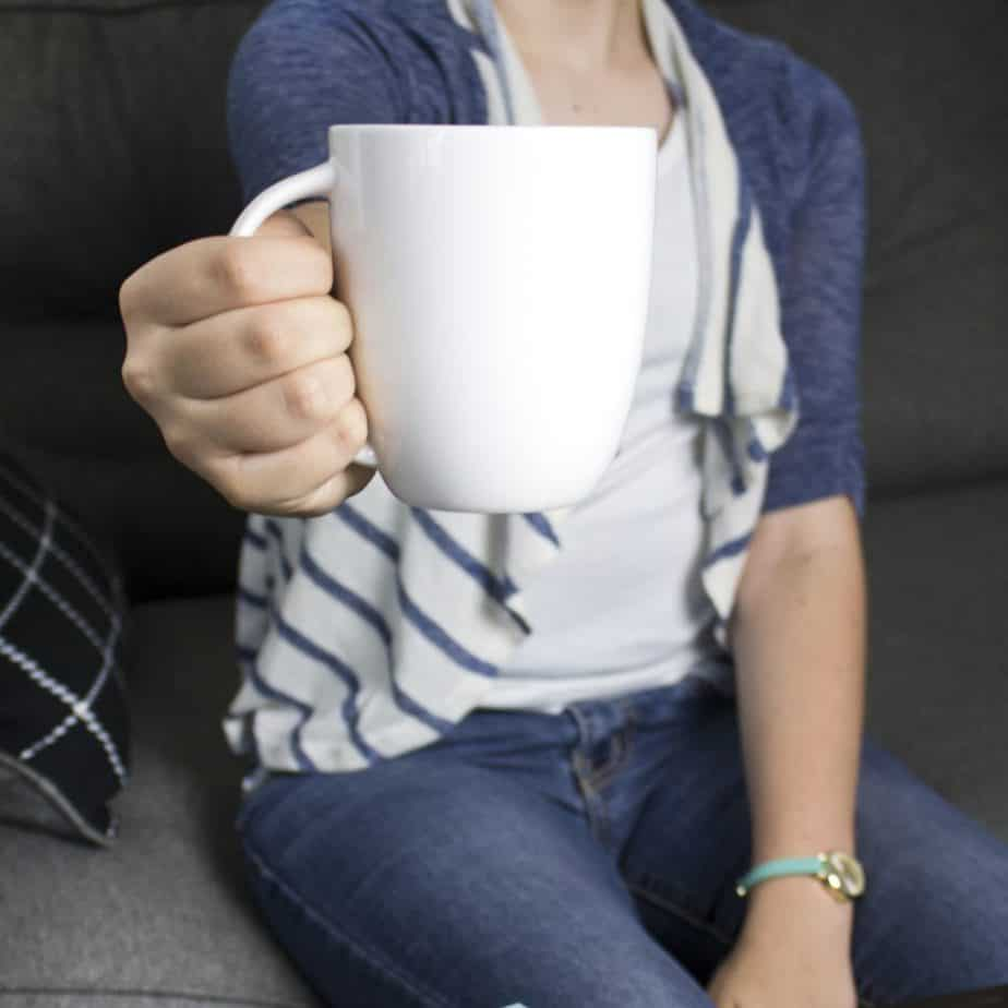 Drinking tea will help with postpartum anxiety & adrenal fatigue