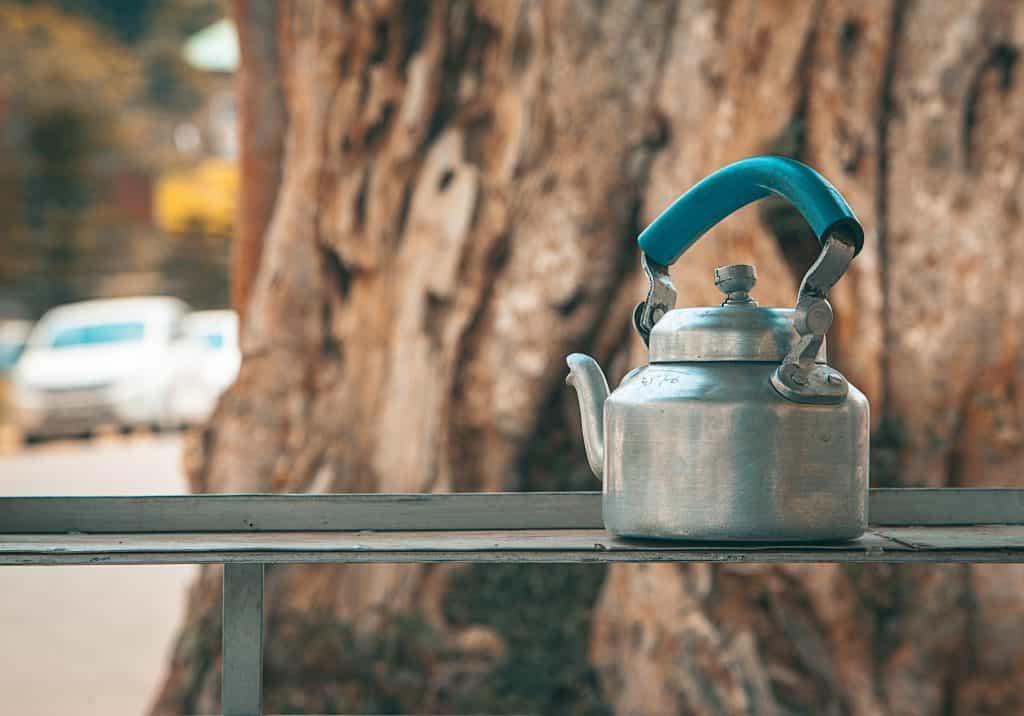Clean your tea kettle