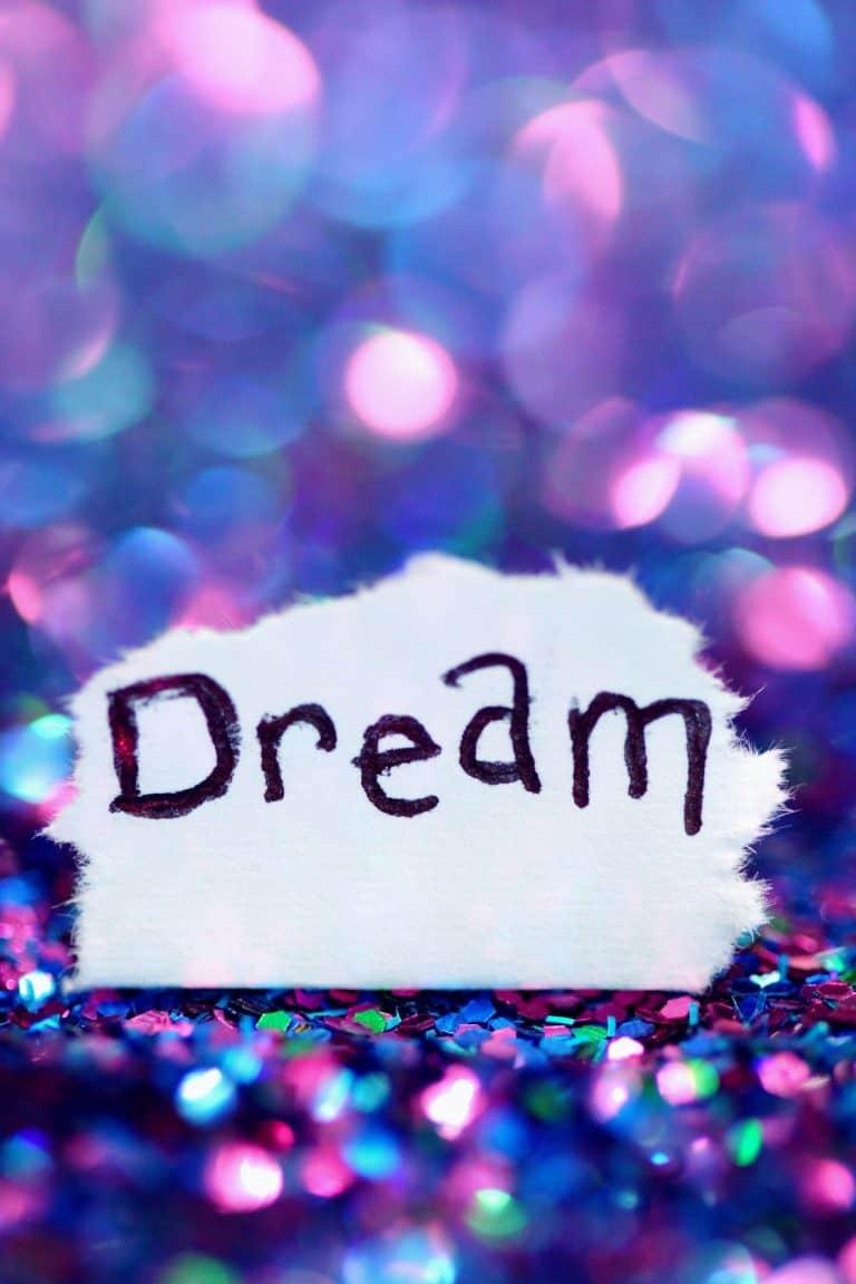 Dream image for goal settings