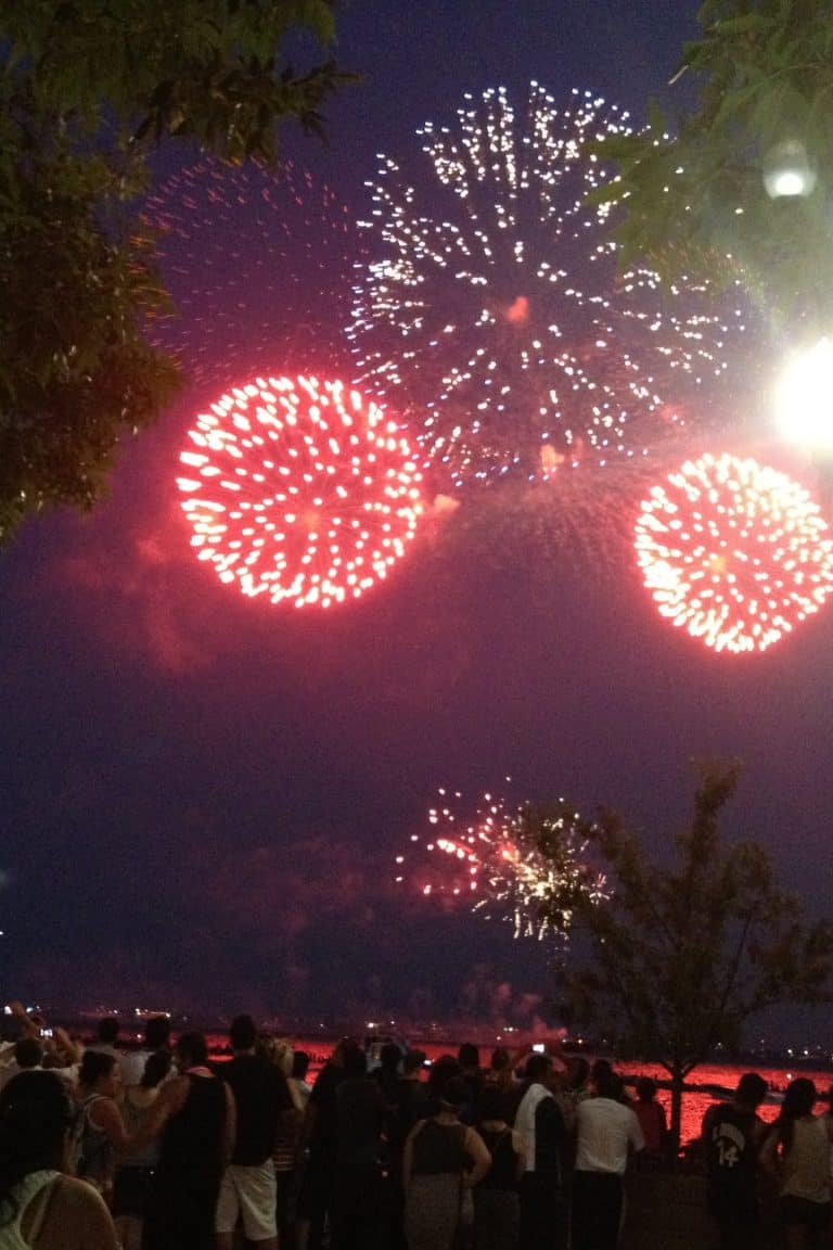 Virtual Fireworks from home
