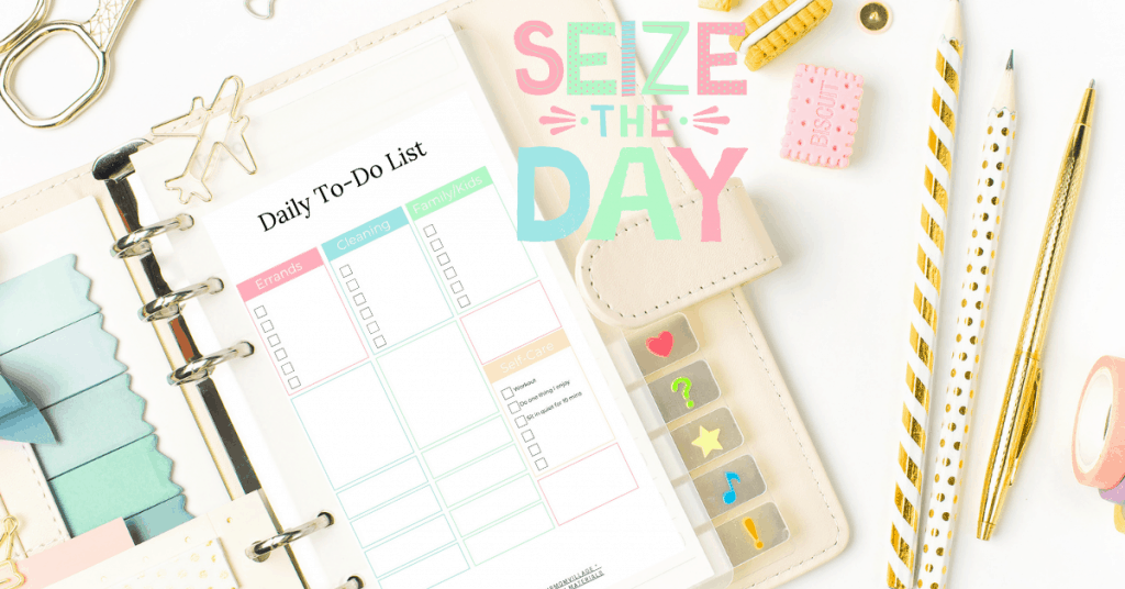 Productivity-Printable-daily-checklist
