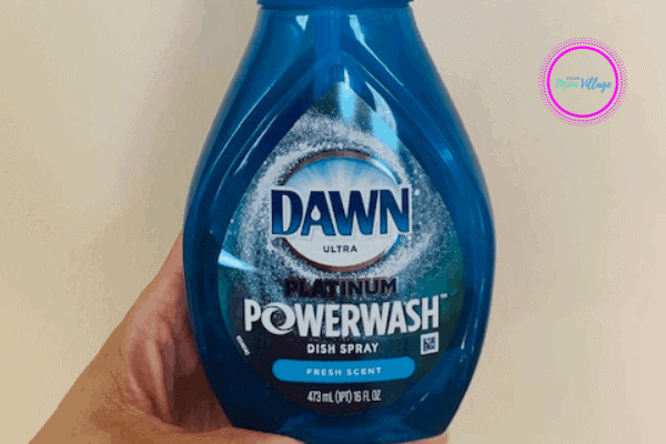 Secret cleaning uses for Dawn Platinum power spray that has nothing to do with dishes